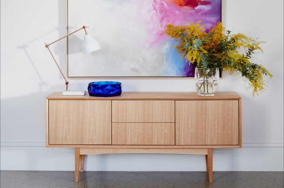 Custom Timber Sideboard