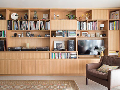 Custom Timber Joinery | Auld Design Wall Unit