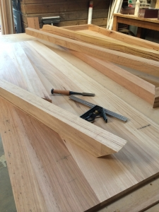 Reclaimed stringybark cut to size
