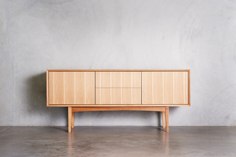 Handmade timber sideboard custom Australian furniture design