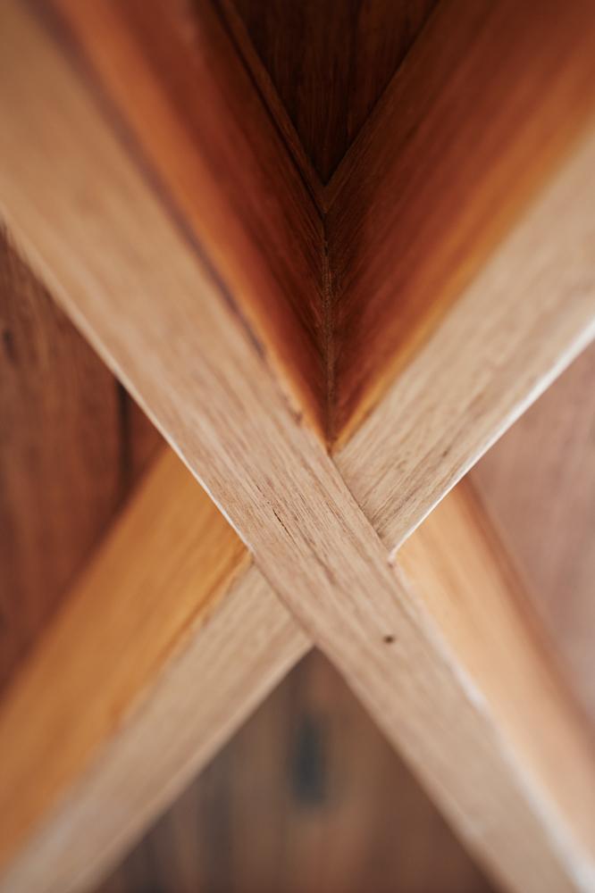 Underneath table join handmade