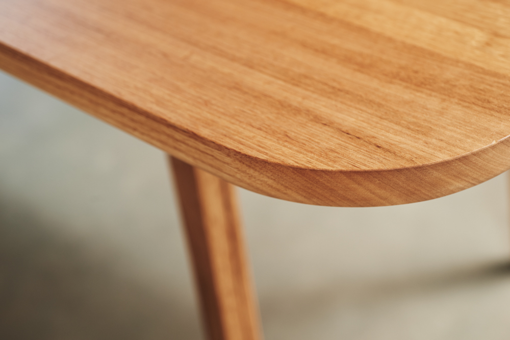 Handmade timber table Australian furniture design