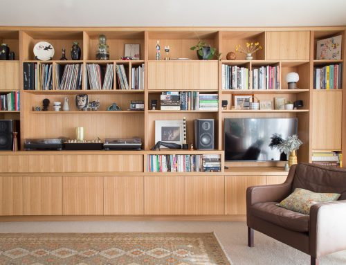 Wall Unit with Bench Seat