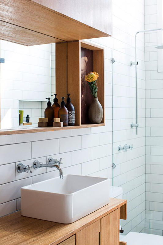 Auld Design custom bathroom cabinet sustainable timber furniture design melbourne and geelong