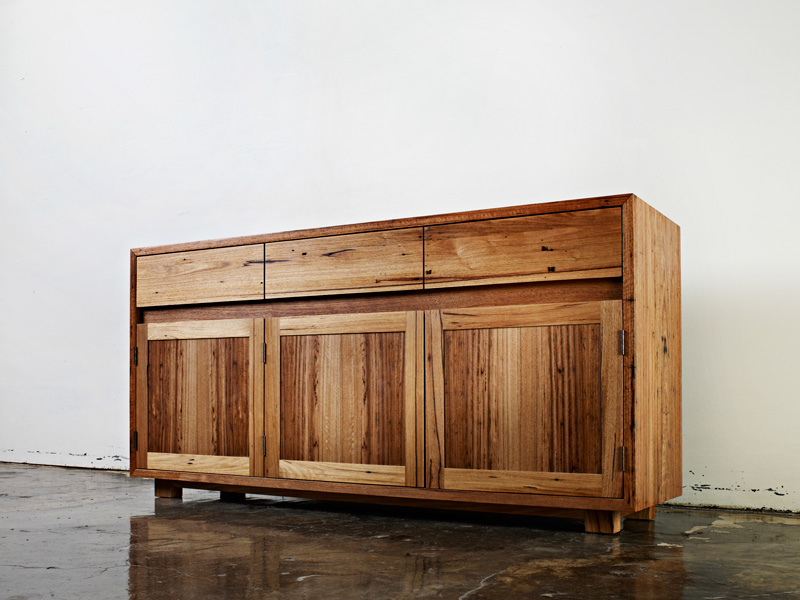 Auld Design Reclaimed Timber Storage Unit | Auld Design Custom Joinery and Handcrafted Furniture Design | Melbourne & Geelong