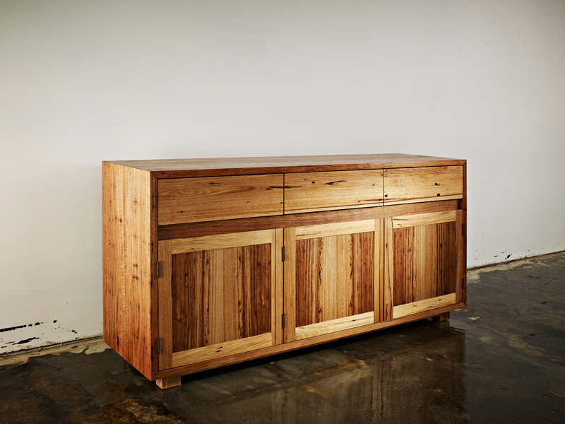 Auld Design Australian Hardwood Reclaimed Timber Storage Unit | Auld Design Custom Joinery and Handcrafted Furniture Design | Melbourne & Geelong