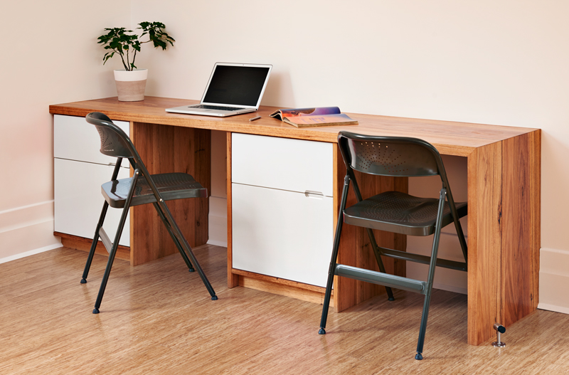 Auld Design Custom Furniture Double Messmate Desk