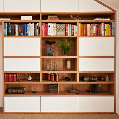 Auld Design custom joinery shelving unit | sustainable timber | handcrafted bespoke furniture Melbourne and Geelong