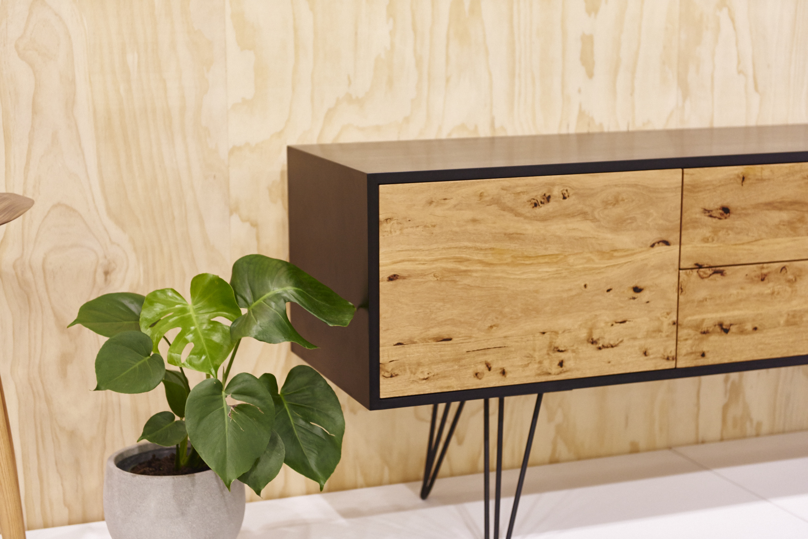 Handmade timber sideboard Australian furniture design