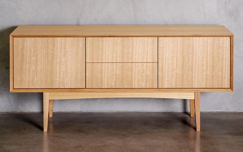 custom designed furniture sustainable timber sideboard - Geelong, Melbourne, Victoria
