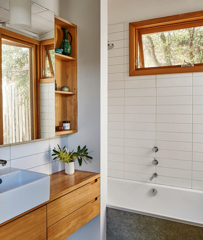 Custom designed furniture - timber bathroom joinery - Geelong, Melbourne, Victoria
