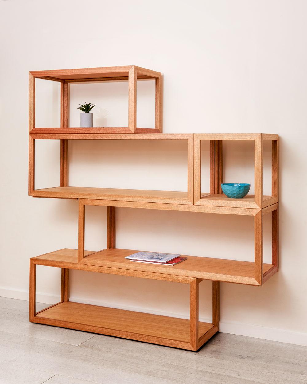 Cubis Shelf System - multiple combinations