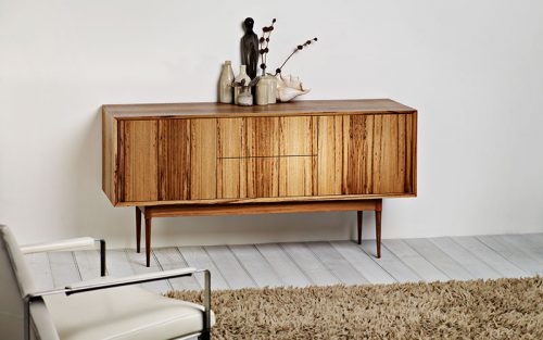Custom designed furniture - danish inspired sideboard - Geelong, Melbourne, Victoria