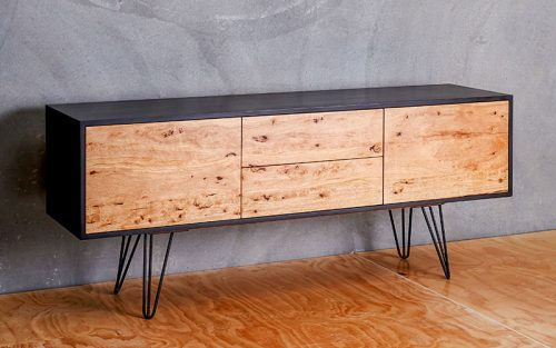 Custom designed furniture - Geelong, Melbourne and Victoria - Locally sourced reclaimed timber - Delirium sideboard